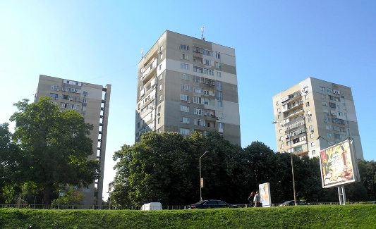 Bulgaria multi-family blocks