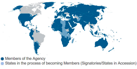 IRENA Member Map