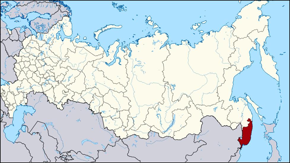 Primorje Region in the far east of Russia