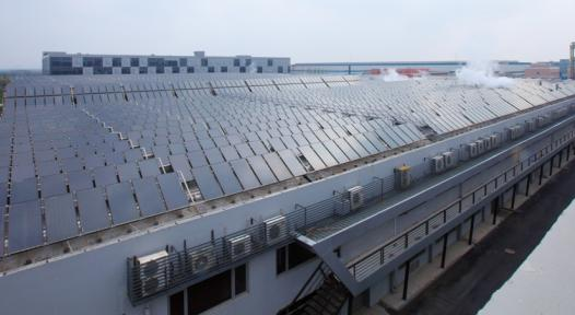 Solar Pre-Heating for Textile Dyeing in Hangzhou