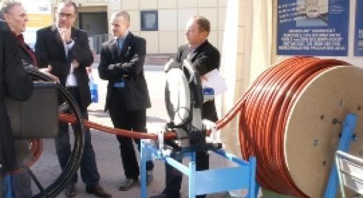 Italy: Thin Piping Insulation saves Transport Costs