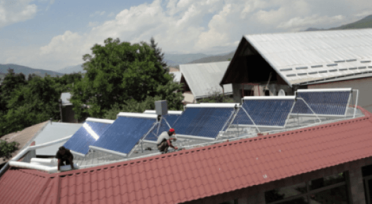 Armenia: Solar Heat as ACBA-Credit Agricole's Corporate Social Responsibility