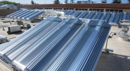 USA: Chromasun's Concentrating Flat Plate Collectors supply Santa Clara University