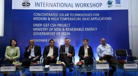 India: UNDP-MNRE Workshop Addresses Solar Process Heat Business Development