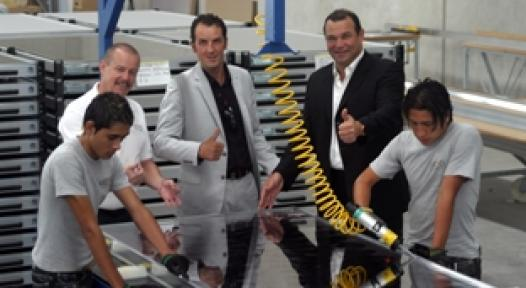 Opening of the Kioto Collector Factory in Mexico