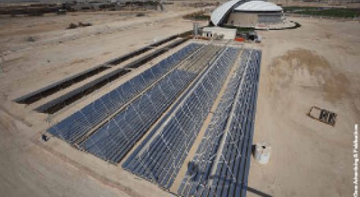 FIFA World Cup 2022: Solar-cooled, 500-seat Showcase Stadium in Qatar