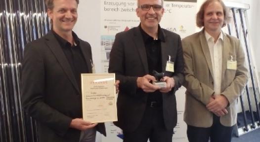 Germany: Award for Solar Process Heat above 150°C from CPC Vacuum Tube Technology