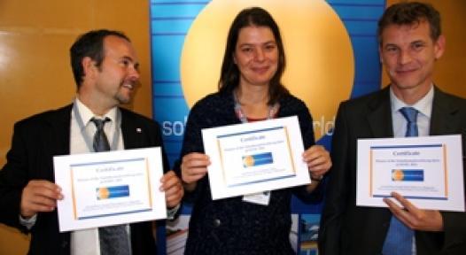 Winners of the Solarthermalworld.org Quiz 2011