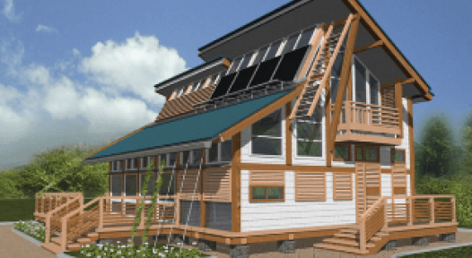 Russia: Solar-Heated House Wins Energy Globe Award