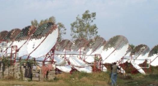 Solar thermal based Air-Conditioning System proves itself in India