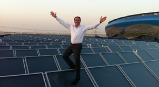 UAE: Dubai with two Greek Solar Thermal Installations above 1,000 m²