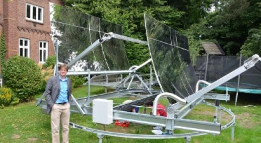 Germany: SunOyster's New Approach to Combine PV and Solar Heat