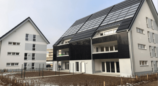 Solar-heated multi-family buildings gain popularity in Germany