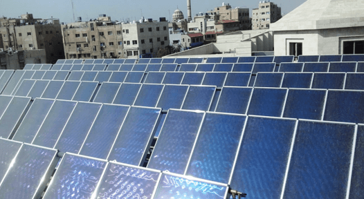 Solar hot water system at Jordanian hospital pays off in 4.4 years