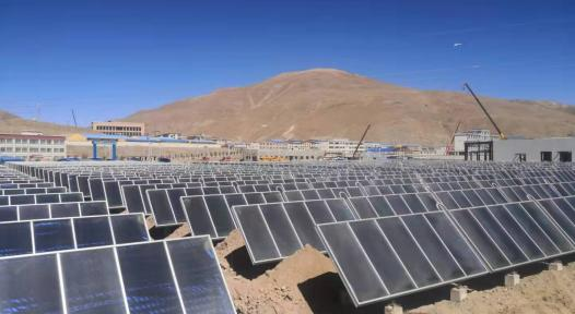 Saga in Tibet tests solar heating in public buildings