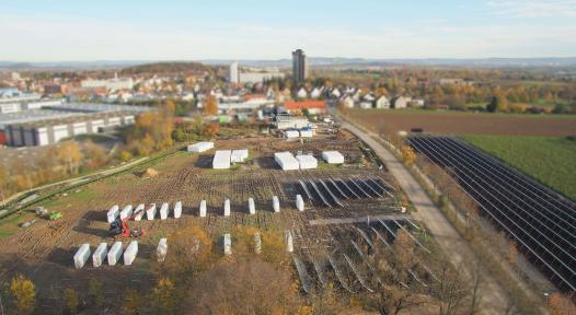 Large-scale solar heat is cost-competitive in Germany
