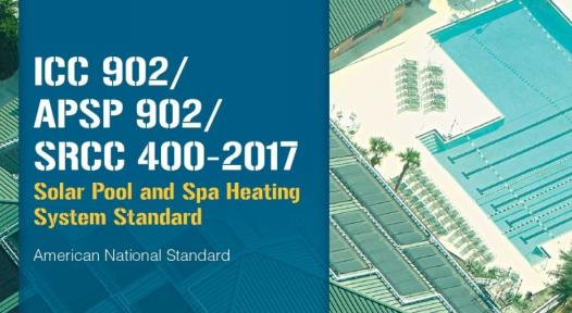 New U.S. standard for solar pool and spa heaters