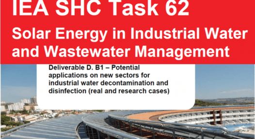Online workshop about solar-powered industrial water management