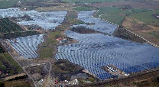 Silkeborg's solar district heating to cover 20 % of heating demand