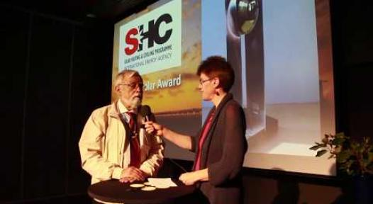 Embedded thumbnail for Prof Roberto Roman: First Solar World Congress in Latin America