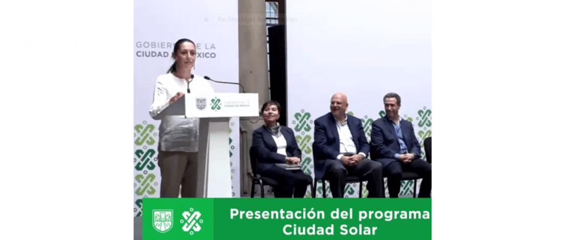 Big solar plans in Mexico City