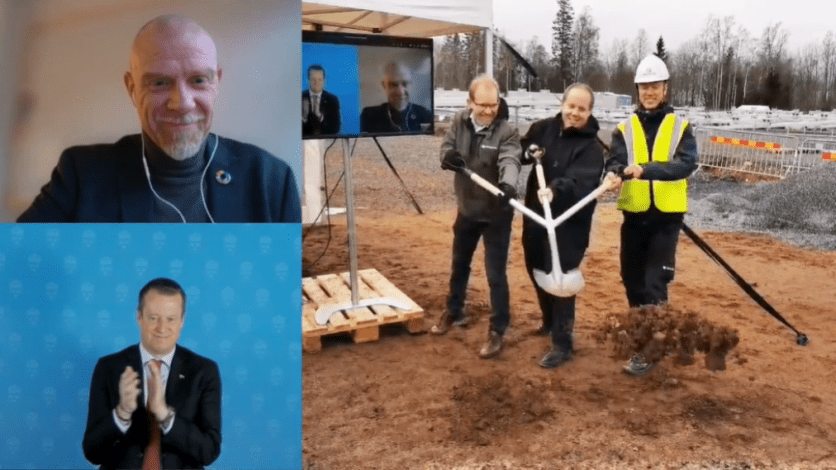 Construction of largest Swedish SDH plant with parabolics