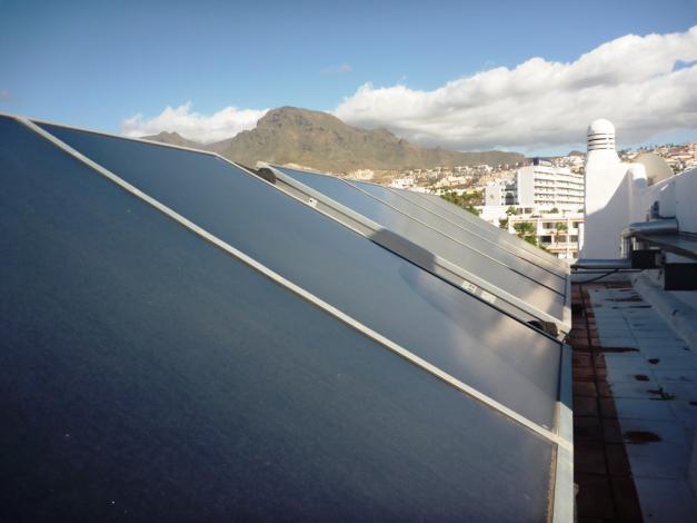 ESCO solar heat projects in Spain