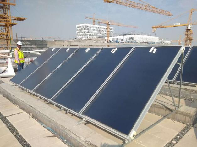 Kuwait's government supports solar thermal projects