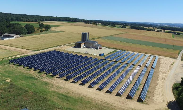 Five new solar-bioenergy villages in Germany